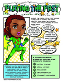 Girl Scout Junior Superhero Playing The Past Download