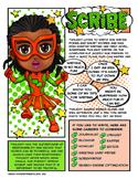 Girl Scout Junior Superhero Scribe Download
