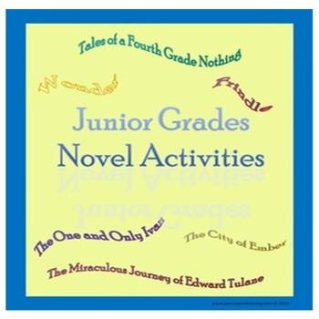 Junior Grades Novel Activities Bundle