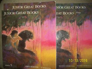 Junior Great Books Series 5  (Set of 5)