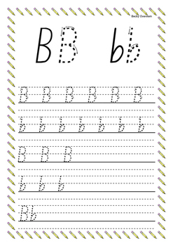 Junior Handwriting Pack Stage 2 (New Zealand Basic font.)