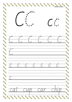 Junior Handwriting Pack Stage 3 (New Zealand Basic font.)