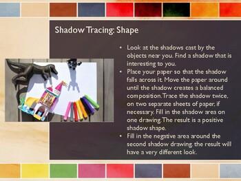Junior High Art Assignments: Visual Prompts