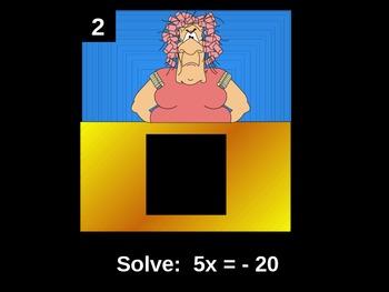 Junior High Math Game Review