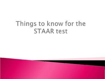 Junior High Math STAAR Review PowerPoint ***Updated for NEW TEKS***