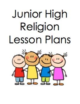 Junior High Religion Lesson Plan Bundle