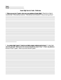 Fun End of Year Writing:  Junior High Survival Guide