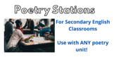Junior High and High School Poetry Stations