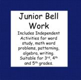 Junior Independent Bell Work
