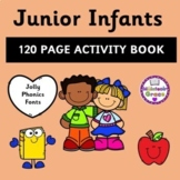 Junior Infants 120 Page Activity Book - Distance Learning