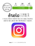 Junior/Intermediate Back to School Resource - InstaSUMMER