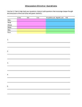 Junior/Intermediate Literature Circle - Book Club format