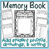Junior Kindergarten Memory Book