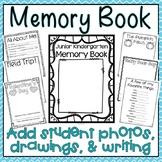 Junior Kindergarten Memory Book