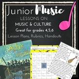 Junior *MUSIC* Lessons of Music & Culture