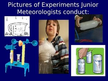 Junior Meteorologist Weather Unit Introduction PPT