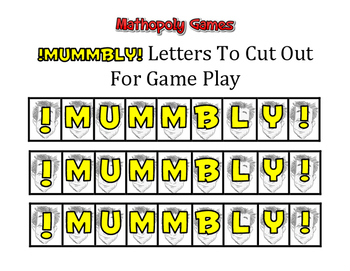 Junior Mummbly Math- Basic Facts - Add, Subtract, Multiply, Divide with Dice