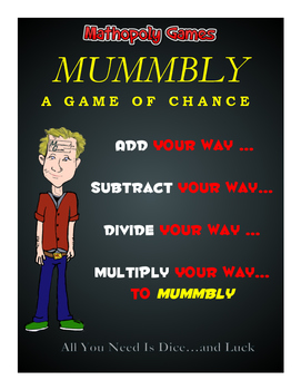 Junior Mummbly Math- Basic Facts - Add, Subtract, Multiply