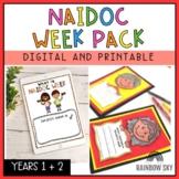NAIDOC Week Activity Pack - Years 1-2 - Digital and Printable