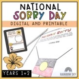 National Sorry Day Pack - Reconciliation Pack - Years 1-2