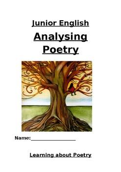Junior Poetry Unit of Work, Workbook for Middle School
