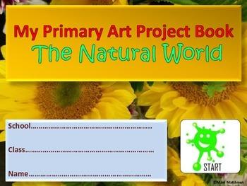 Junior School Art Project Book