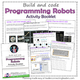 Junior Girl Scout Programming Robots Activity Booklet