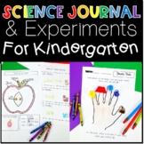 Science Journal Experiments and Activities for Kindergarten