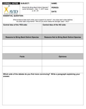 Junior Scholastic (December 11, 2017 issue) Extension Activities