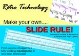 Junior Slide Rule