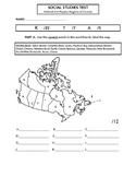 Junior Social Studies Test  - Political and Physical Regio