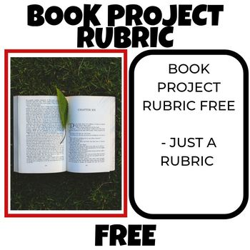 Book Project Rubric FREE