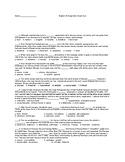 Junior Vocab Diagnostic PreQuiz Sadlier Oxford Orgels
