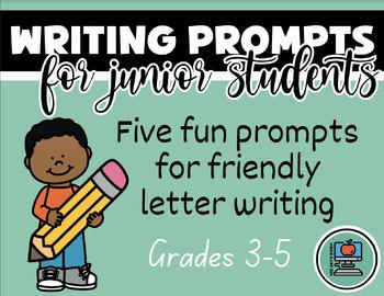 Junior Writing Prompts