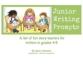Junior Writing Prompts