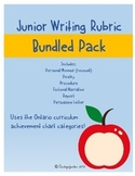 Junior Writing Rubrics - Bundle Pack