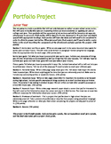 Junior Year Portfolio Project