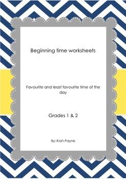 Junior primary clock maths