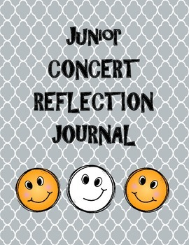 Junior Concert Reflection and Goal Setting Sheet