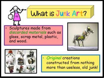 Junk Art (Powerpoint)