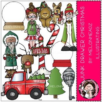 Melonheadz: Junk Drawer clip art - Christmas