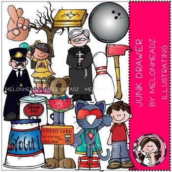 Melonheadz: Junk Drawer clip art - COMBO PACK