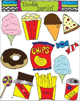 Junk Food COLOR Set