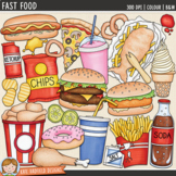 "Junk Food Clip Art: ""Fast Food"""