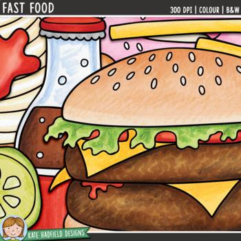 "Junk Food Clip Art: ""Fast Food"""
