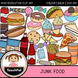 Junk Food Clip Art - Food Groups