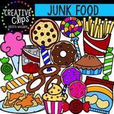 Junk Food {Creative Clips Digital Clipart}