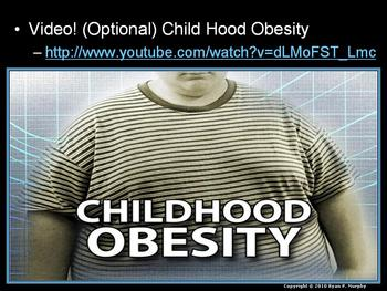 Obesity, Dangers of Junk and Fast Food, Eating Disorders Lesson