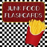 Junk Food Flashcards FREEBIE
