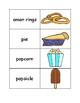 Junk Food Flashcards